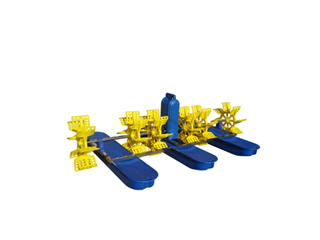 New High Speed 3HP Paddle Wheel Aerator